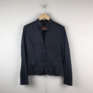 Burberry l Classic Tailored Navy Blazer Jacket